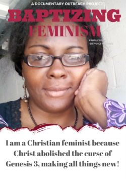 Christian feminist woman of color